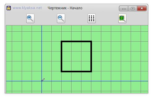 Четрежник - квадрат